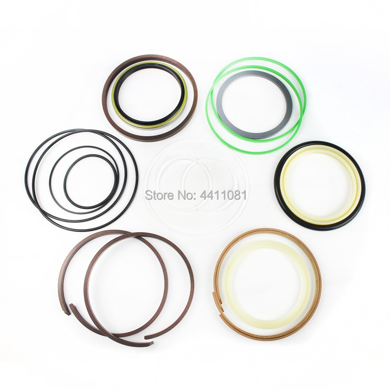 For Hyundai R220LC-3 R220-3 Bucket Cylinder Repair Seal Kit Excavator Gasket, 3 month warranty fits komatsu pc150 3 bucket cylinder repair seal kit excavator service gasket 3 month warranty