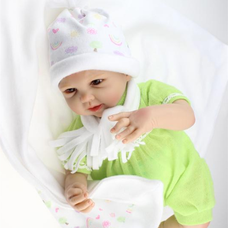 Hot Sale 50 55cm Cute Lifelike Reborn Baby Dolls For Kids
