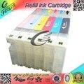 Nuevo lanzado 280 ml * 6 colores para epson surelab d700 cartucho de tinta recargable