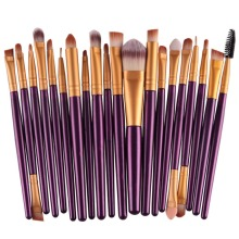 New Arrival Pro 20Pcs Superior Cosmetic Brushes Set Kit Makeup Tool Hot Selling