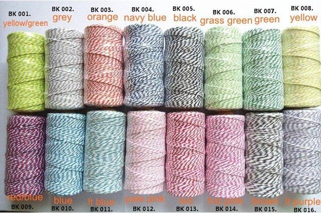 aliexpress com buy 100m spooldouble color 100 cotton bakers