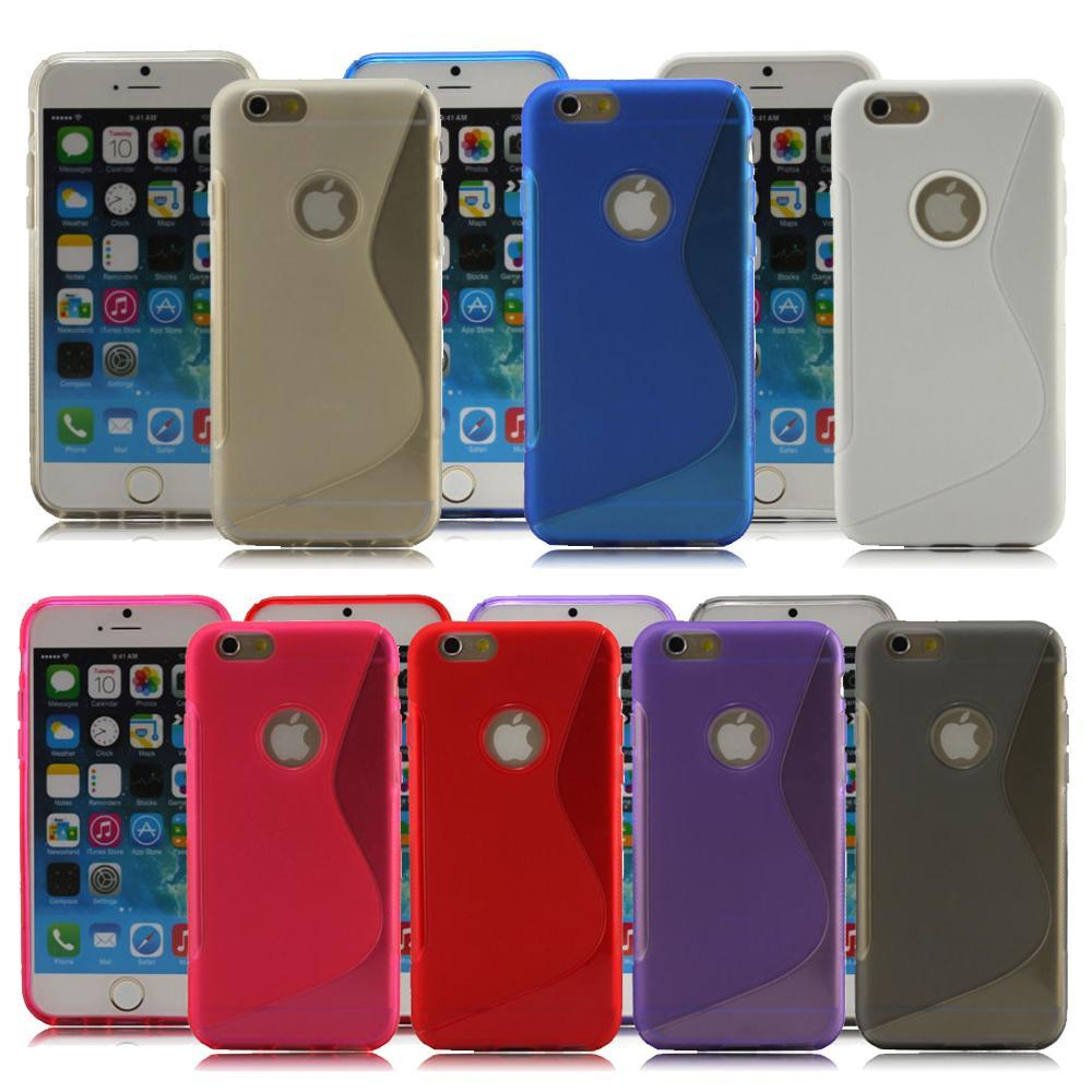 White Phone Case for Apple Iphone 6 Mobile Shell IPhone 4.7 Capa Hard Cover