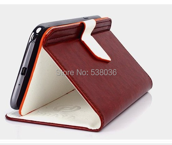 asus fonepad note 6 Case Protective Flip Leather card holder Fashion Holster new item - Android mobile phone accessories store