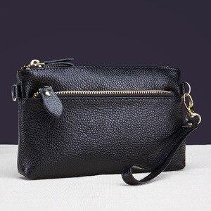 Image 4 - CICICUFF السيدات حقيبة ساع حقيقية الجلود العلامة التجارية النساء صغيرة حقيبة صغيرة الأزياء Crossbody حقائب للنساء يوم جديد براثن