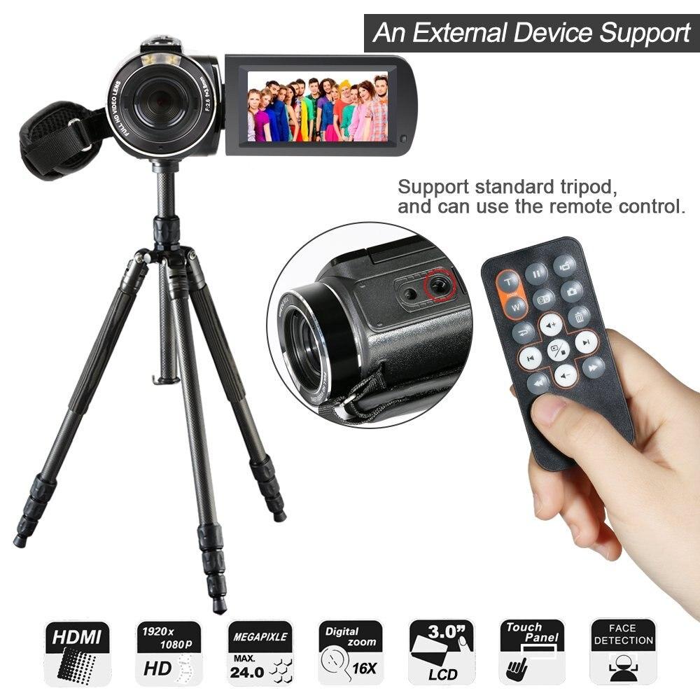 Full HD 1080 P 30FPS Wifi Camcorder Tragbare Digitale Videokamera ...