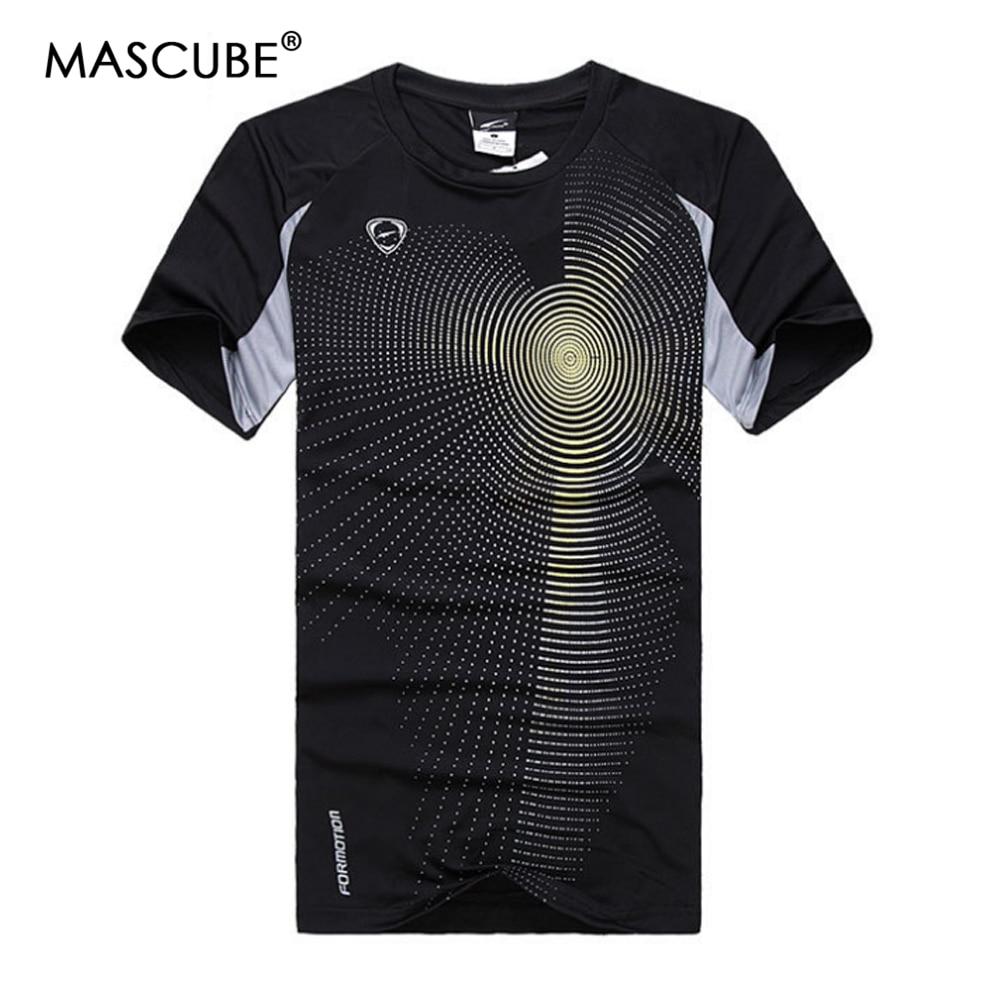 SchöN Mascube 2018 Neue Quick-dry Training Männer T Shirt Kurzarm T-shirt Patchwork Schulter Fast Dry Tops & T-shirt Männer M-2xl T-shirts
