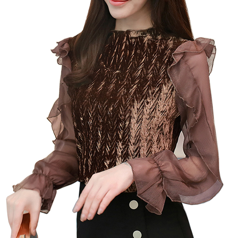 Best Price Femininas Blusas 2018 New Sweet Lace Women Tops Fashion