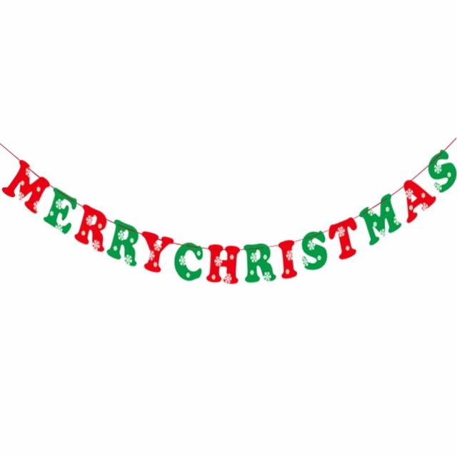 merry christmas banners 8 flags xmas tree elk bell design forked tail paper banners bunting garlands