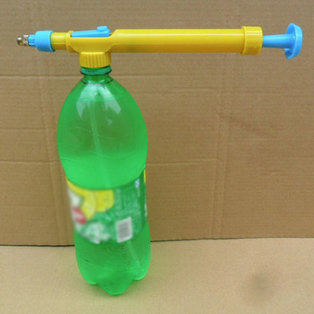 Mini Water Bottle Sprayer Head Made With Plastic Material For Plants And Bonsai