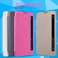 Чехол для LG Stylus 2 (K520) NILLKIN Искра супер тонкий откидную крышку кожаный чехол для LG Стилус 2 с В Розницу Пакет