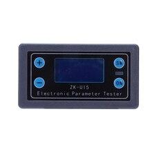 Dc 5V-38V Digital Display Lcd Voltmeter Ammeter Volt Current Voltage Meter Tester Multi-Function Power Protection