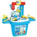 Botiquín Médico Juguetes Niños Pretend Play House Juguetes Clásicos 24 unids/set Medicina Simulación Niños Niñas Niño Del Hogar