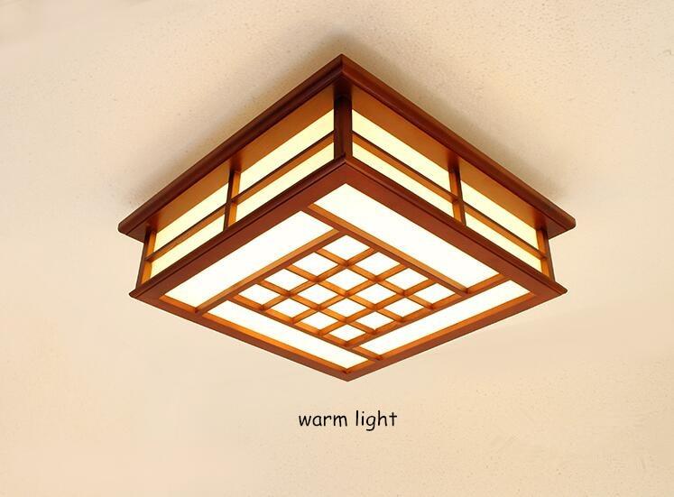 Modern LED Flush Mount Ceiling Fixtures Light Japanese Ceiling Light ...