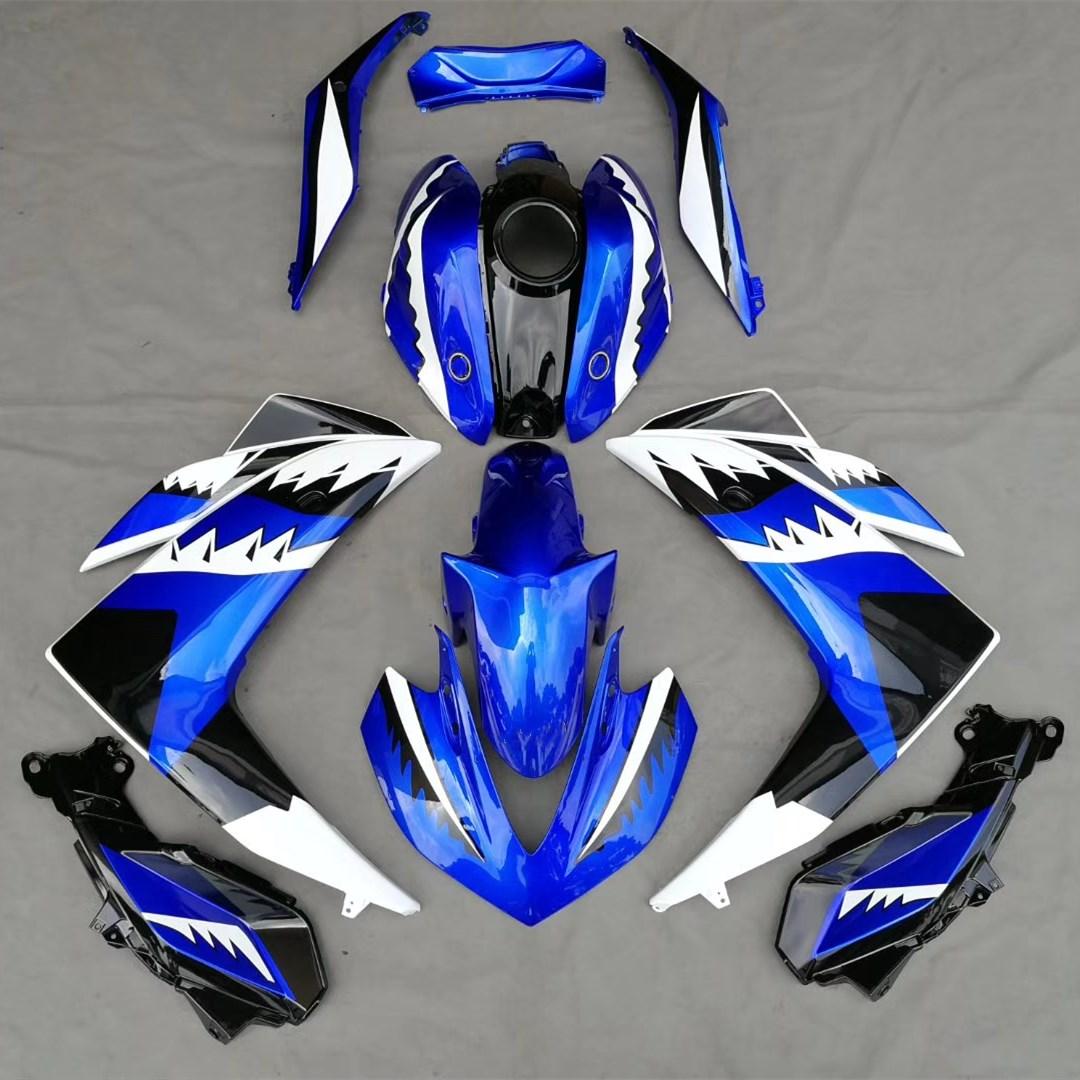 Motorcycle Bodywork Fairing Kit For Yamaha R25 R3 YZF 2015 YZFR25 YZFR3 YZF-R25 YZF-R3 15 Blue Fairings Cover Injection Molding for yamaha yzfr25 r3 yzfr3 yzf r3 yzf r25 2014 2015 motorcycle accessories aluminum oil filler cover screw plug cap bolt blue