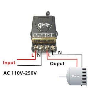 Image 3 - QIACHIP 433 Mhz универсальный Беспроводной удаленного Управление переключатель AC 110 V 220 V 30A реле 1CH приемник и РФ 433 mhz дистанционного Управление;