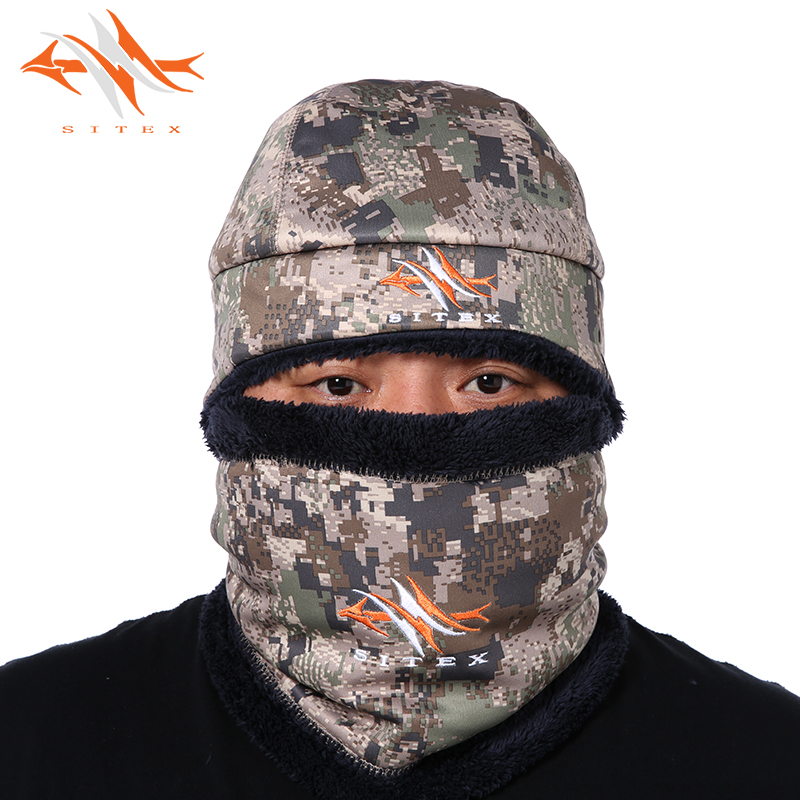 2018 sitex Set hat and mask Open Terrain Blizzard Beanie and Waterfowl Boreal Beanie Same as sitka