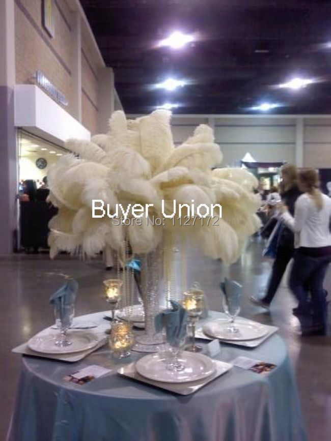 Online buy wholesale cream ostrich feathers from china