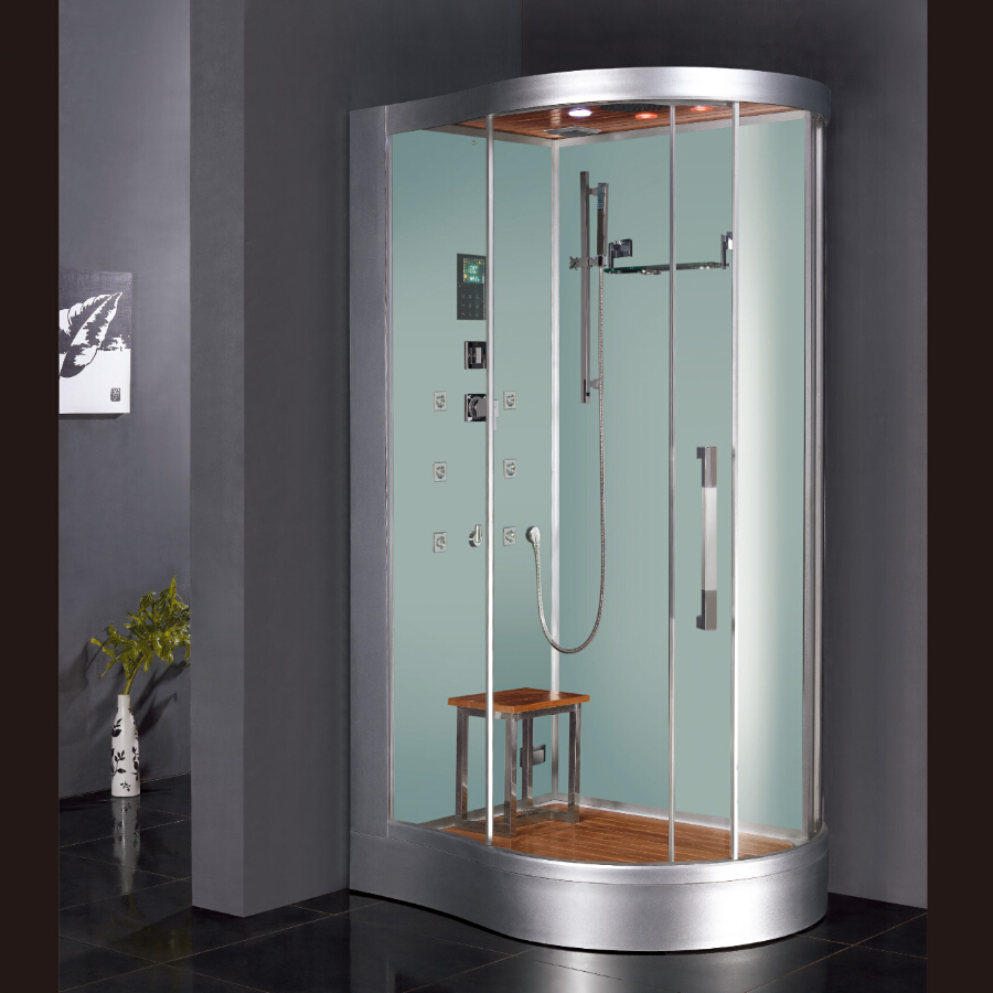 2017 new design luxury steam shower enclosures bathroom steam shower cabins jetted massage walking in