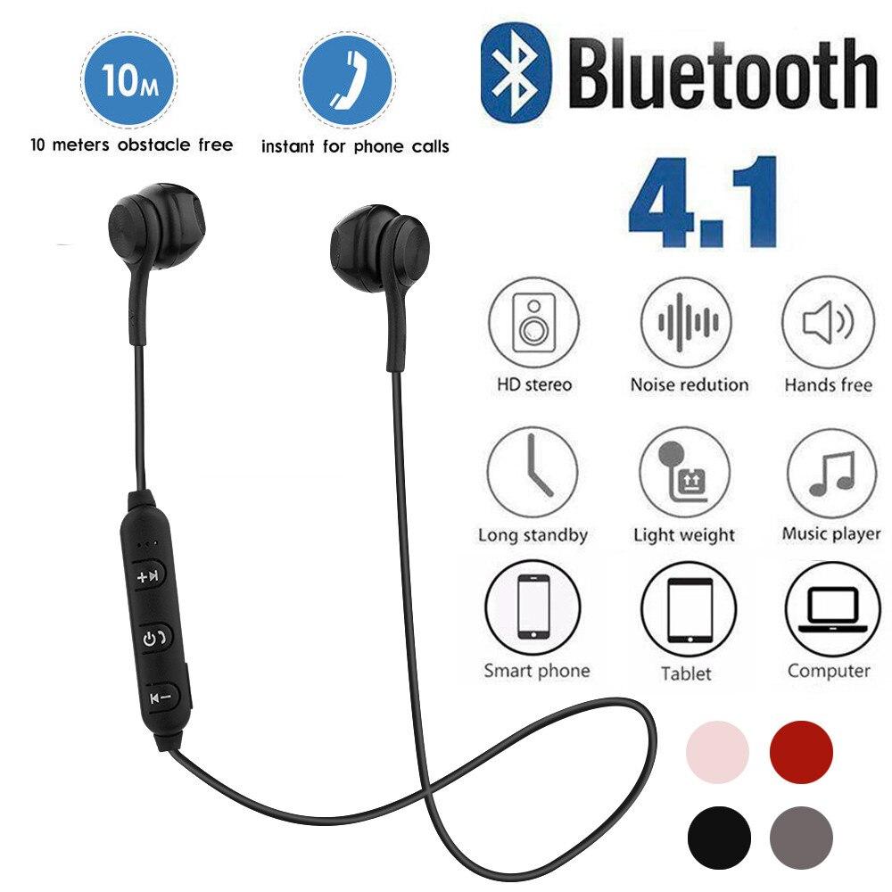 Sports Bluetooth Earphone Wireless Bluetooth Headset Sport Stereo Earphone For Smartphone Wireless Headset Earbuds 1224#2