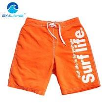 b2d831020c187 Gailang Brand Fashion Mens Board Shorts Beach Bermuda Boxer Trunks Shorts  Mens Casual Shorts Big Size XXL Man Swimwear Swimsuits