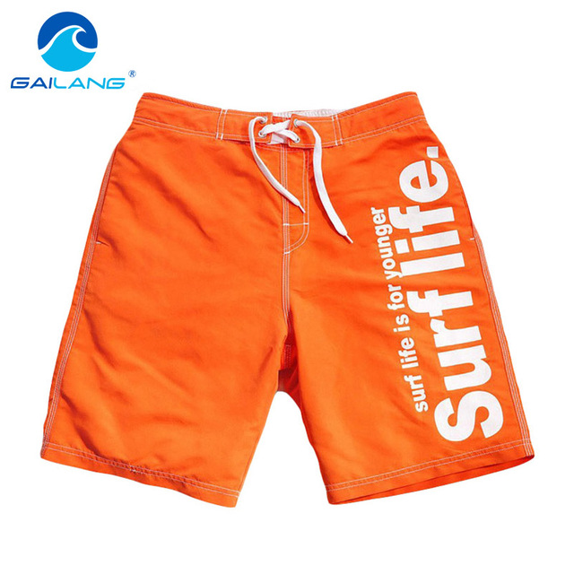 Gailang Brand Fashion Mens Board Shorts Beach Bermuda Boxer Trunks Shorts Mens Casual Shorts Big Size XXL Man Swimwear Swimsuits