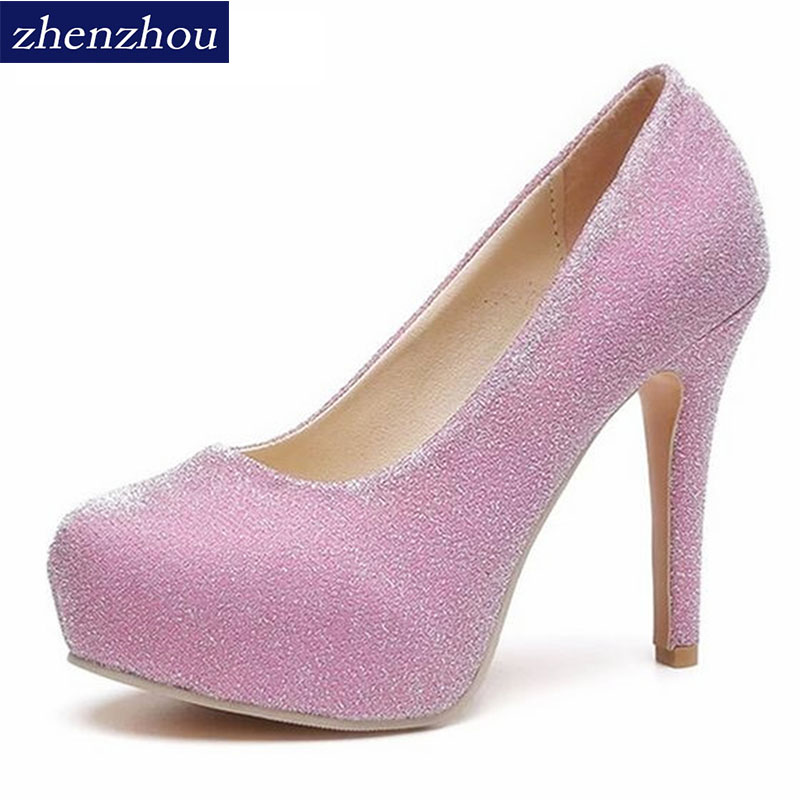 New 2017 spring and summer shoes Korean version of the ultra-high with a single shoe waterproof Taiwan fine with inner shoes 2018the new women s patent leather and shoes classic korean version of the classic korean shoes red wedding shoes