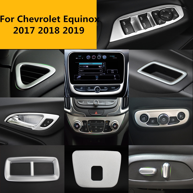 2018 Chevy Equinox Interior Color Options: For Chevrolet Equinox 2017 2018 2019 Car Interior Full