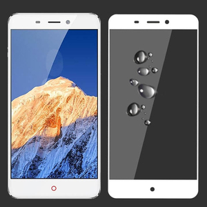 Image 2 - 2PCS 3D  Tempered Glass For ZTE Nubia N1 Full screen Cover Explosion proof Screen Protector Film For NX541J 5.5 inch