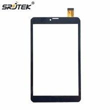 TM-8044 Srjtek Nuevo Para TEXET 8.0 3G Tablet PC de Pantalla Táctil Touch Panel Digitalizador Del Sensor de Reemplazo de Cristal Nuevo Negro