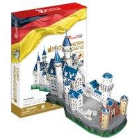 World Famous Building 3D Puzzle Germany New Swan Castle Model Puzzle Toy Children DIY Puzzle Toys