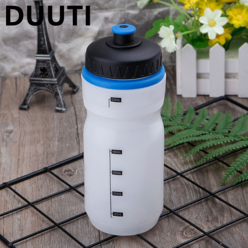 Water Bottle 550ml Outdoor Sports Cycling Running Camping Hiking PELD Drinking Cup Portable Leak Proof MTB Bike