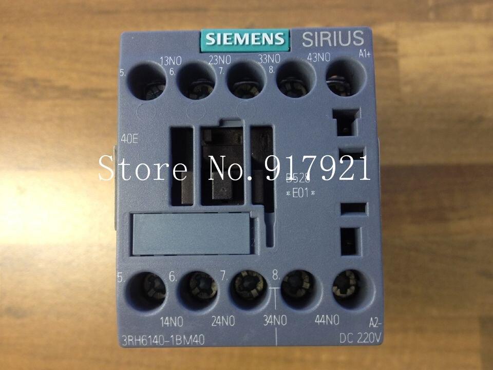 [ZOB] original original 3RH6140-1BM40 DC220V 40E B528 E01 DC contactor --2pcs/lot [zob] original original srd n4 dc48v 2no 2nc genuine original dc contactor 2pcs lot