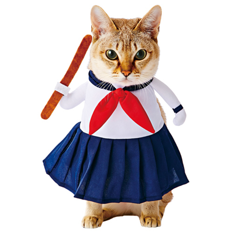 Aliexpress.com : Buy Cat Clothes, Japanese High School Uniform Inspired Cat Attire, Cat Costume