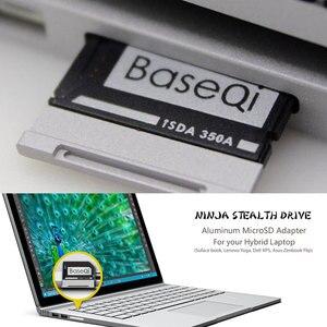 Image 5 - Originele Baseqi Aluminium Minidrive Microsd Card Adapter Voor Oppervlak Boek Lenovo Yoga Dell Xps & Asus Zenbook Flip Laptop 13.5 inch