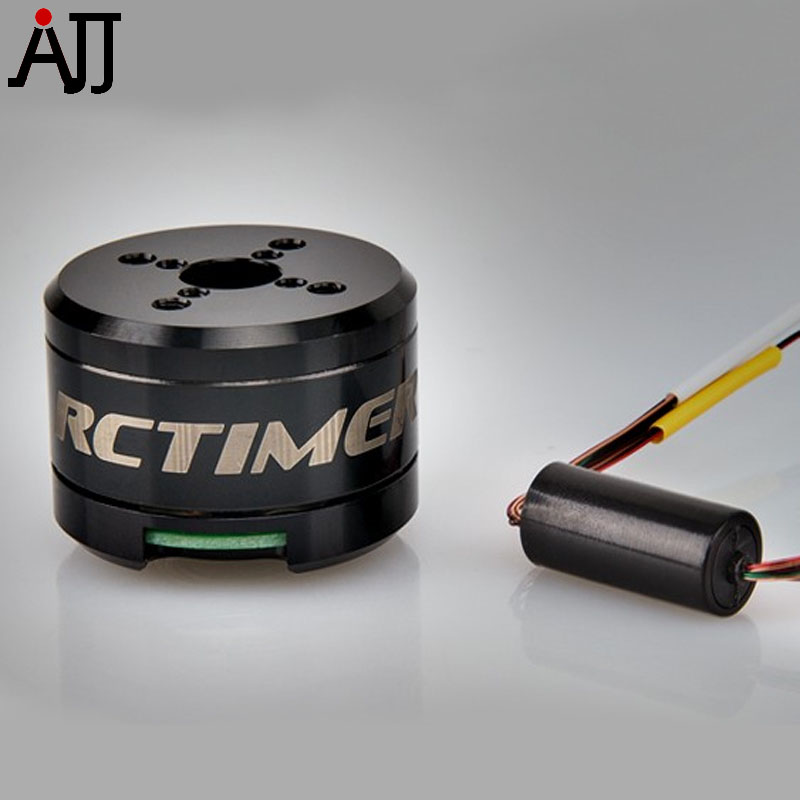 Rctimer 12N14P 2608 70T Brushless Gimbal Motor With Slip Ring GBM2608-SR 8.5mm Hollow Shaft GoPro Camera MotorsRctimer 12N14P 2608 70T Brushless Gimbal Motor With Slip Ring GBM2608-SR 8.5mm Hollow Shaft GoPro Camera Motors