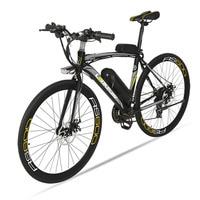 Cyrusher rs600 도로 전기 자전거 36 v 240 w 15ha 리튬 배터리 21 속도 700cx28c 스마트 lcd 디스플레이와 50 cm 탄소강 프레임|electric bike|bike electric bikeelectric road bike -
