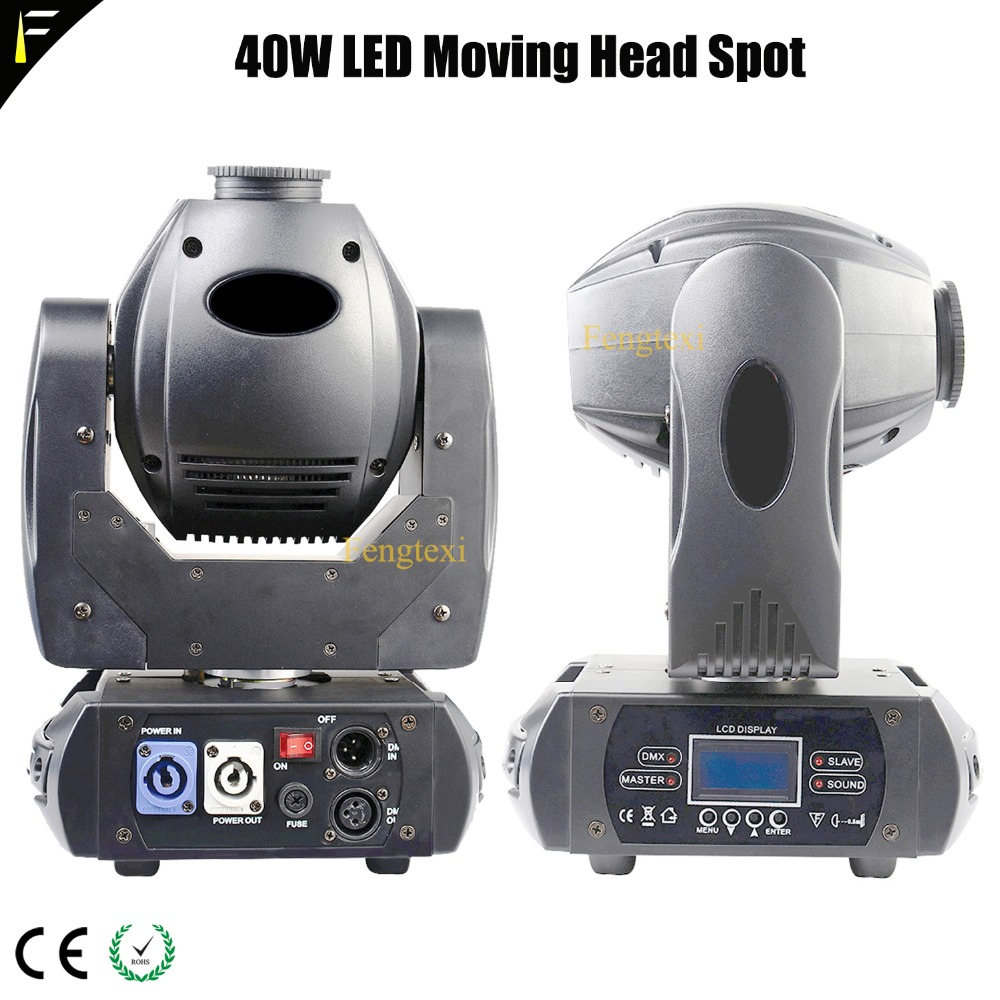 2units New LED 40W RGBW Color Stage Spot Moving Head Light with 8 Degree Spot Beam Angle 3 Prism DMX Moving Spot Dj Disco Light 2units New LED 40W RGBW Color Stage Spot Moving Head Light with 8 Degree Spot Beam Angle 3 Prism DMX Moving Spot Dj Disco Light