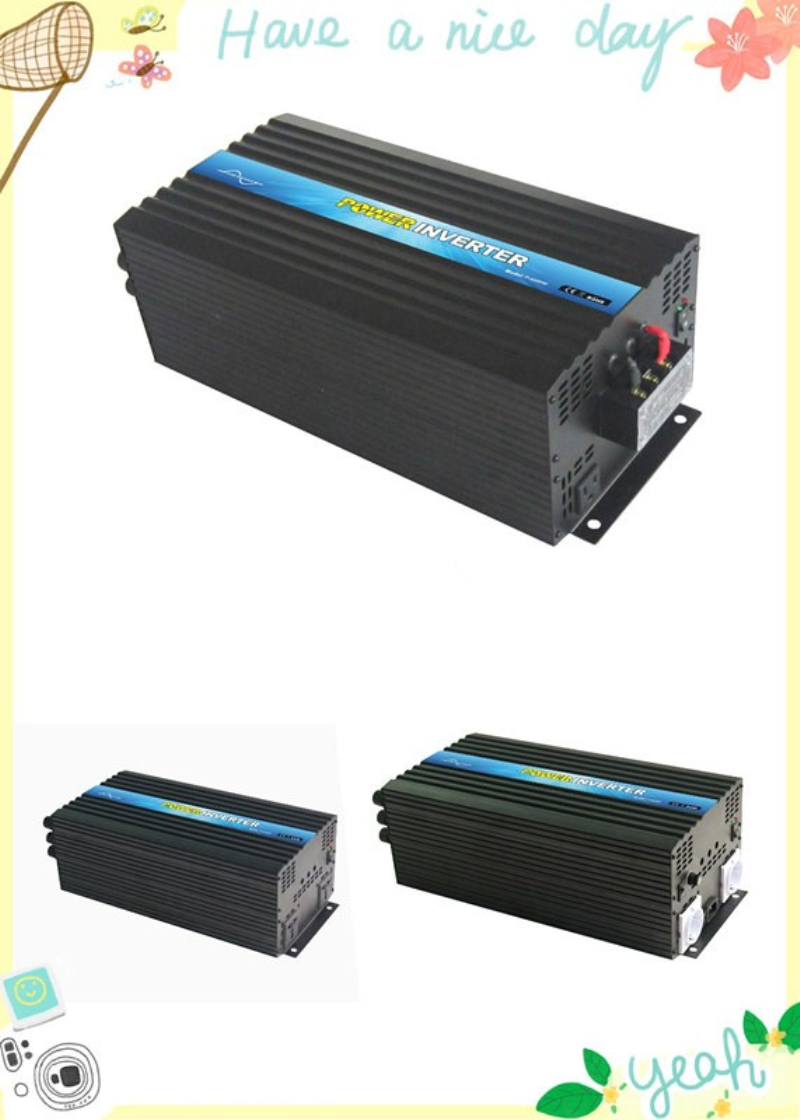 CE,ROHS Approved, 6000W 50Hz Off Grid DC to AC Pure Sine Wave Solar Inverter