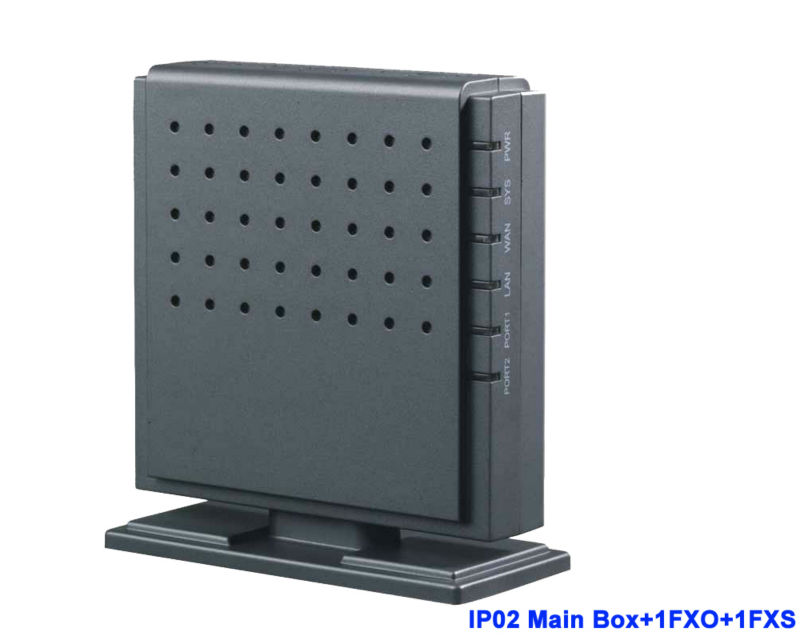 IP02-1O1S Analogique Astérisque réseau IP PBX avec Module pour 1 FXS 1FXO VOIP Système PBX pour Appel Gratuit PBX SIP Téléphone passerelle