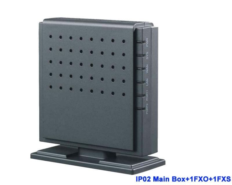 IP02-1O1S Analog trunk di Asterisk IP PBX con Modulo per 1 FXS 1FXO Sistema PBX VOIP per PBX SIP Phone gateway Chiamata Gratuita
