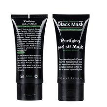 Угорь очищающий грязь шелушиться глубоко акне черная лица маска мл для