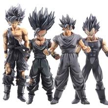26-35cm Dragon Ball Z Action Figures Super Saiyan Son Goku Vegeta Anime Master Figurine Collectible Model Toys For Children #E