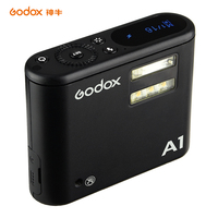 Godox A1 Smartphone Flash Speedlite 2.4G Wireless System Trigger Control with Constant Led Light for iPhone 6s 7 plus