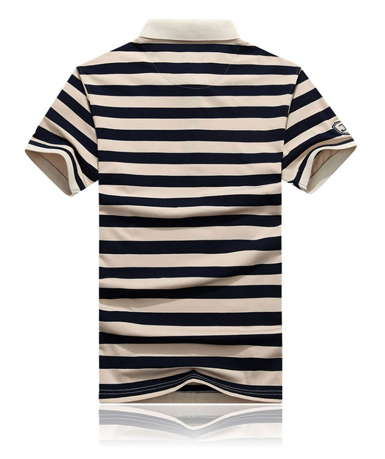 Polo Shirts Men Fashion Brand Striped Cotton Polos Slim Fit Summer Short Sleeves Male Casual Shirts Top Quality Plus Size 3XL (6)