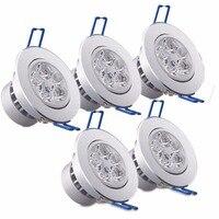 MIFXIN 85V 265V 5W LED Spotlight Bulb Lamp Recessed Downlight Ceiling Light Driver For Kitchen Hallway