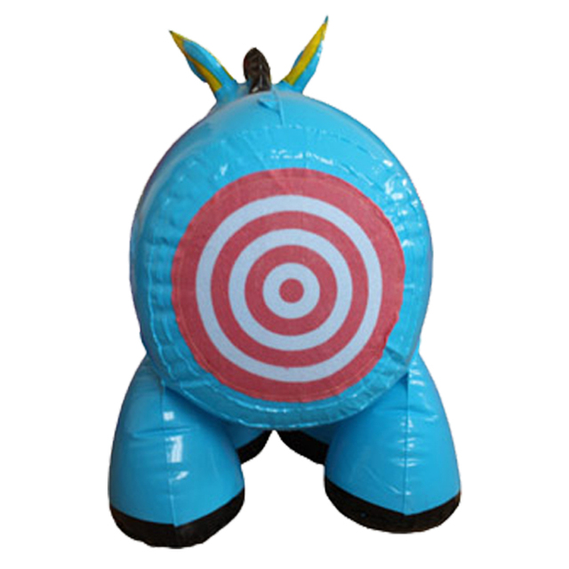 Pin The Tail On Donkey Game Inflatable Party Decoration Blow up Inflatable Donkey Toy for Kids Birthday Party Supply