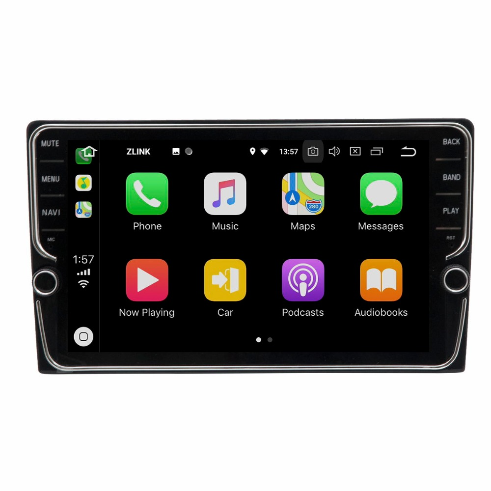 Perfect 9 inch Android 8.1 4G Car Multimedia Player GPS Navigation For Toyota REIZ 2010-2018 2