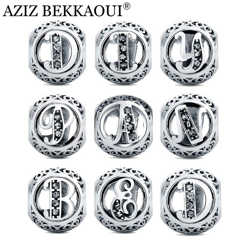 Aliexpress.com : Buy AZIZ BEKKAOUI Diy Crystal Alphabet
