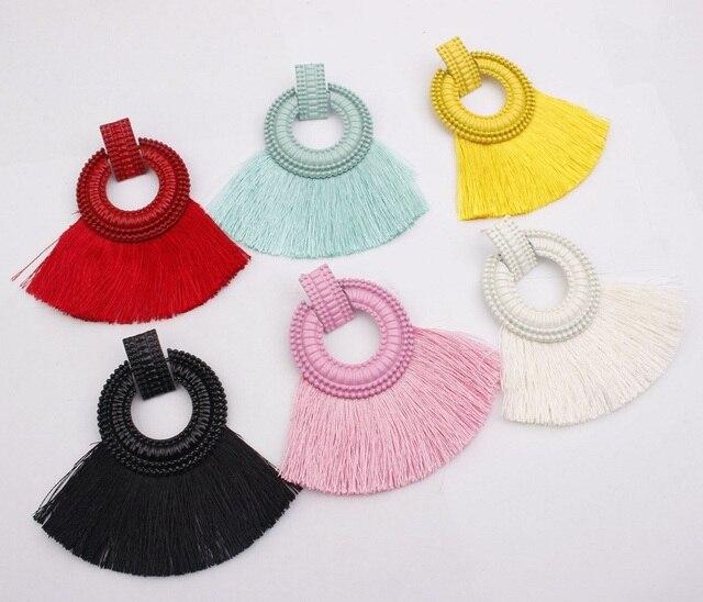 Серьги подвески naomy & zp в стиле бохо для женщин серьги с
