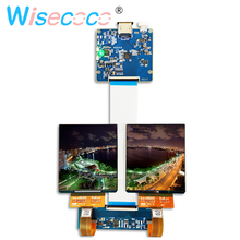 3.81 inch AMOLED display screen 1080x1200 3D VR head mounted with HDMI to MIPI driver board for HMD TF38101A